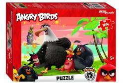 Пазл Angry Birds, 104 элемента