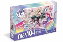 Пазл My little pony. Розовые пони, 104 элемента